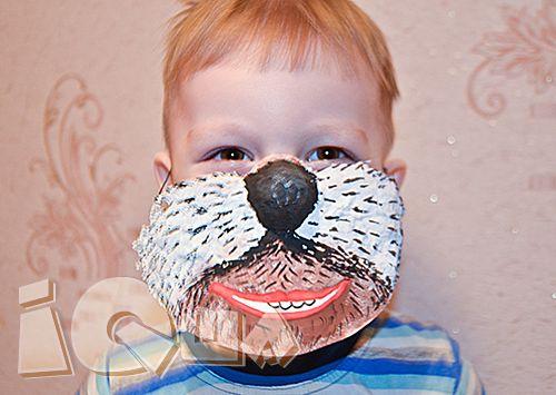 """Читаете ли вы Корнея Чуковского? Домашний спектакль по произведению """"Бармалей"""" можно поставить дома, сделав маску самого Бармалея. Поиграем в театр?"""