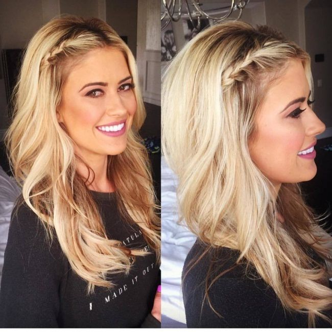 Hairstyle Avec Tresse Cheveux Mi Lengthy