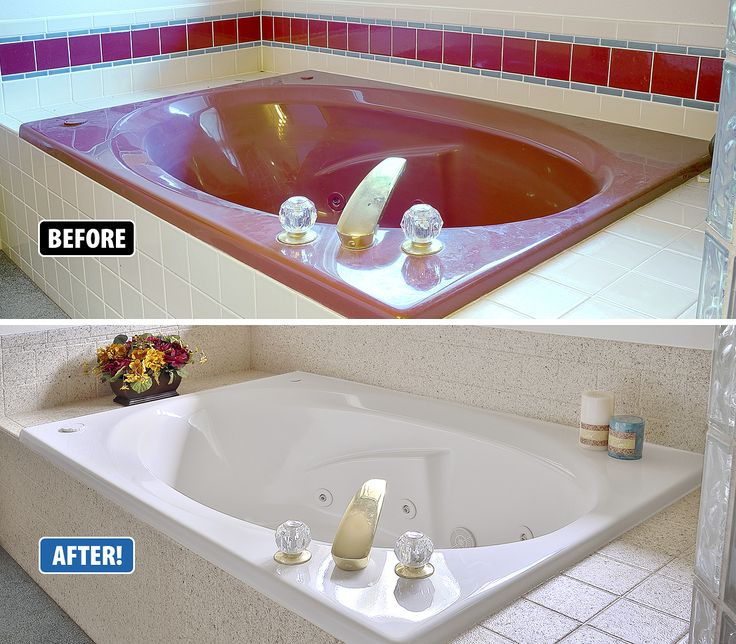 Instead Of Ripping Out Your Garden Tub And Tile, Miracle Method Can Refinish  Over The Existing Bathtub ...