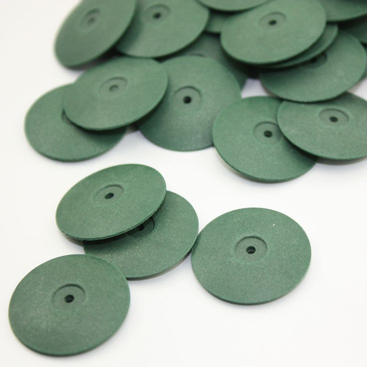 100 PCS Rubber Polishing Disc Dental Jewelry Rotary Tool Metal Alloy Polisher #Affiliate