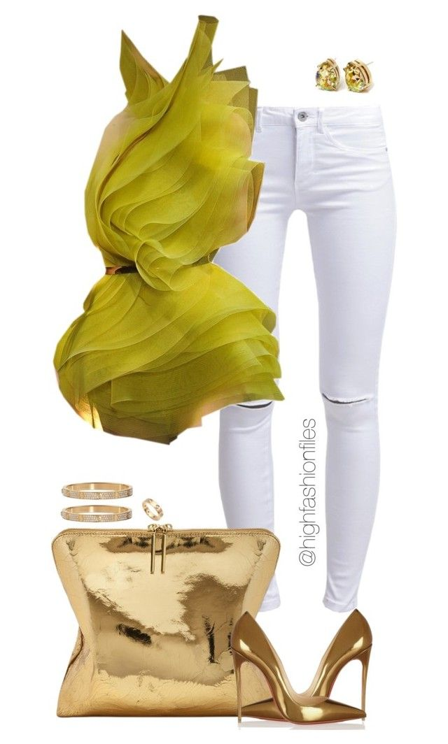 """""""Untitled #2719"""" by highfashionfiles on Polyvore featuring ONLY, Alexandre Vauthier, Cartier, 3.1 Phillip Lim, Christian Louboutin and Stella Valle"""