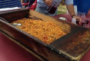 Las migas, plato típico de la cocina de Extremadura.