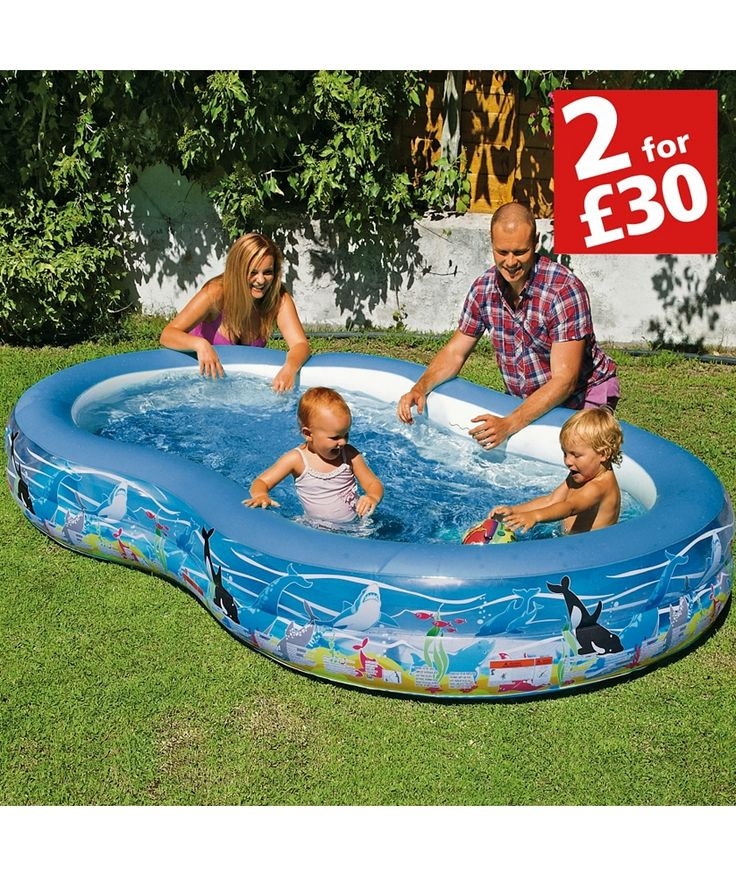Buy Chad Valley Ocean Printed Pool - 5ft - Multicoloured at Argos.co.uk - Your Online Shop for 2 for 30 pounds on Toys, Pools and paddling pools.