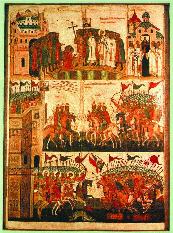 Середина   XV в.   Битва Новгородцев с Суздальцами