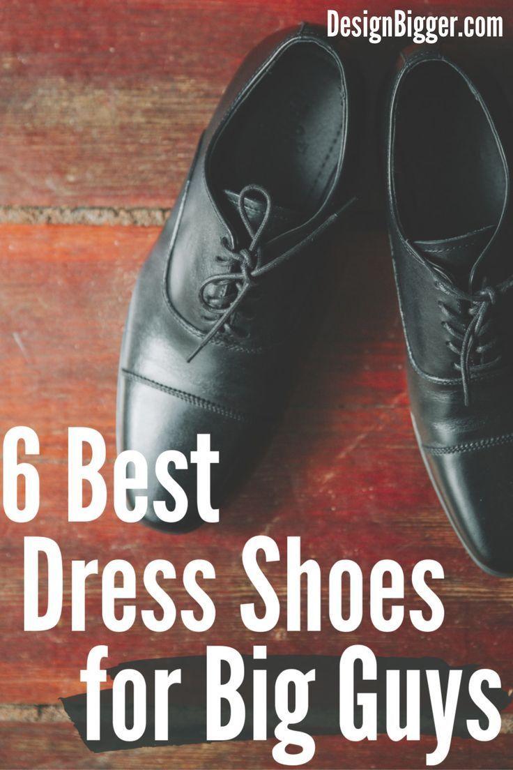 comfortable shoes for big guys