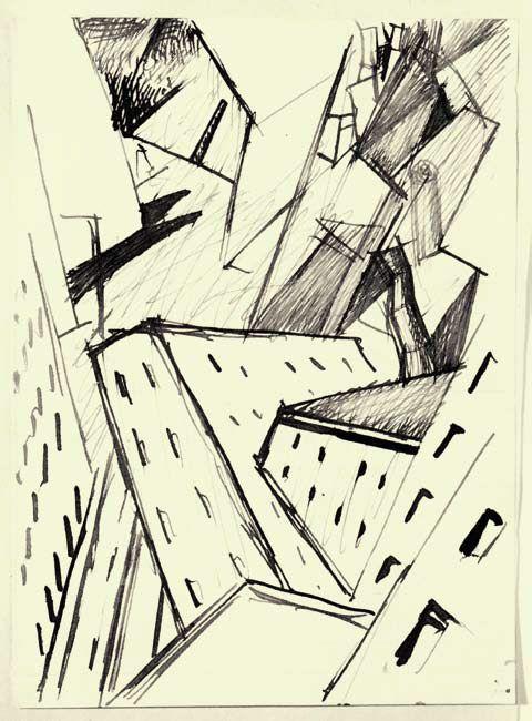 Composizione futurista 1915