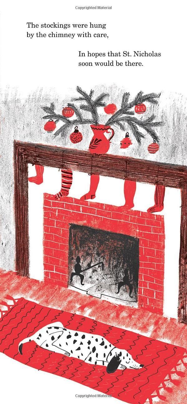 The Night Before Christmas: Amazon.de: Roger Duvoisin, Clement C. Moore: Fremdsprachige Bücher