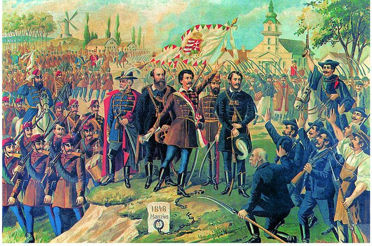 Louis Kossuth and Rebellion in Hungary 1848