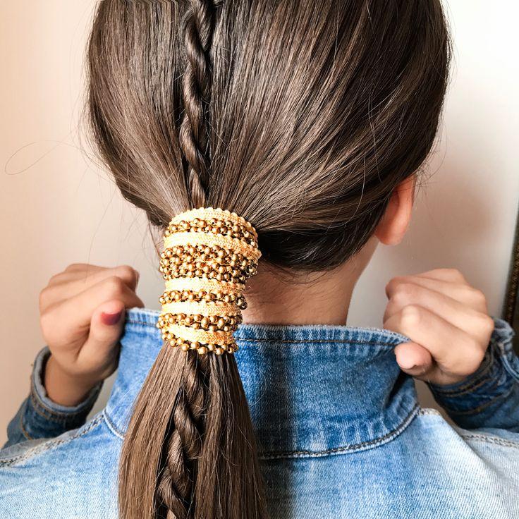 Ponytail Hair wrap, Hair, Hair styles