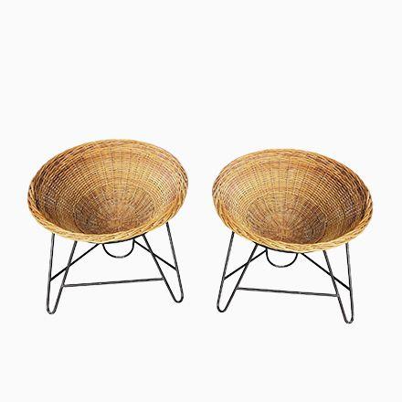 Vintage Korbstühle, 2er Set Jetzt Bestellen Unter:  Https://moebel.ladendirekt.de/kueche Und Esszimmer/stuehle Und Hocker/armlehnstuehle/?uidu003d4688a936 6388   ...