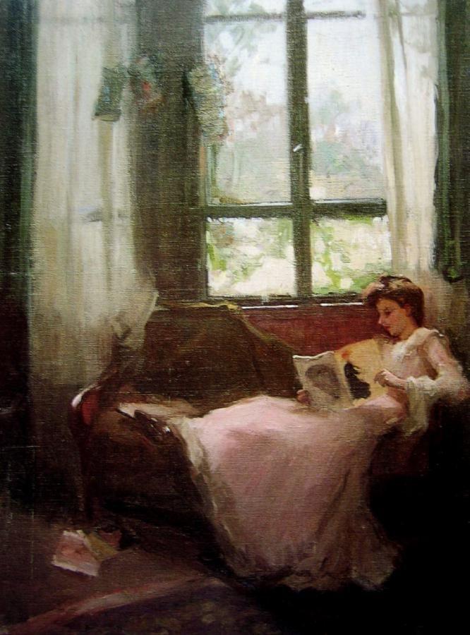 The Studio Window (1906). Margaret Preston (Australian, 1875–1963). Oil on canvas. National Gallery of Australia.