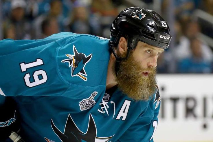 The greatest NHL playoff beards of all time  -  April 10, 2017:    JOE THORNTON, SAN JOSE SHARKS  -    We're going to go ahead and count this beard even though Joe Thornton was working on it all regular season long, because come on, look at it. Joe Thornton is still chasing his first Stanley Cup, but there's always this year.