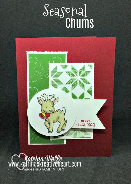 Stampin' Up!'s Seasonal Chums Meet the New Blends!