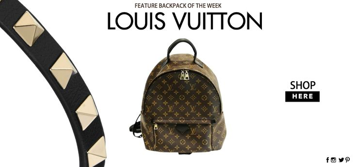 LOUIS VUITTON MONOGRAM PALM SPRINGS MM BACKPACK