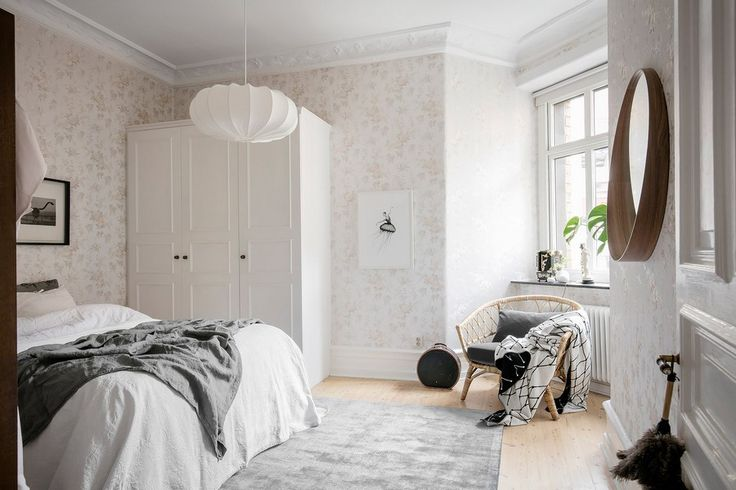 This welcoming Scandinavian preserves its original turn of the century charm in the form of high ceilings, wood flooring, ceiling medallions.