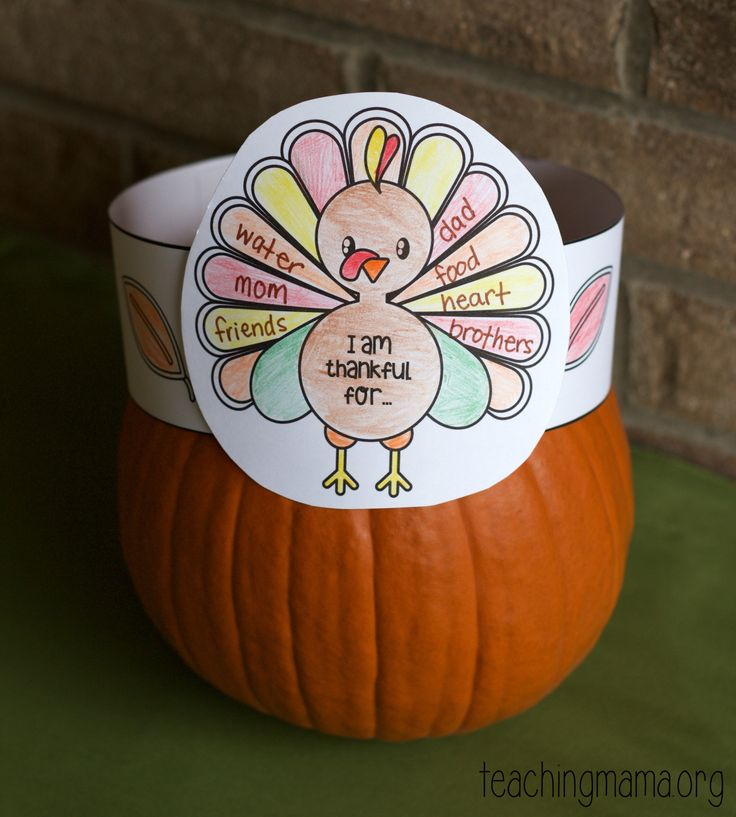 Thankful turkey hats to celebrate what kids are thankful for! Great activity to do for Thanksgiving.