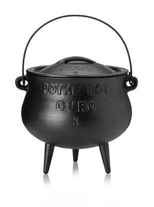 Guro Cast Iron Poy-Ke 3 African Cast Iron Pot