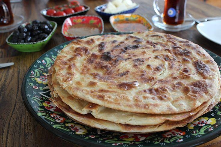 Sallys Blog - Katmer Ekmek / türkisches Brot aus der Pfanne