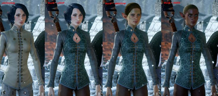 Teased Ponytail at Dragon Age: Inquisition Nexus - Mods