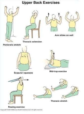 9 best images about upper back stretches on pinterest
