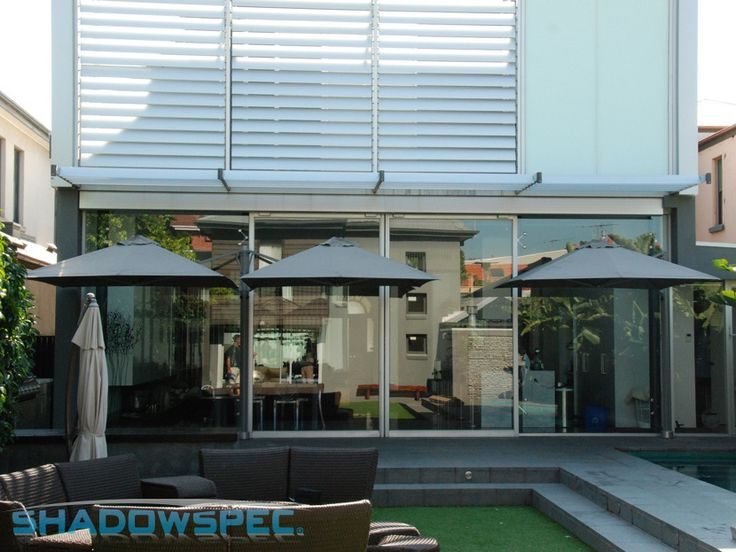 SHADOWSPEC - Global Suppliers of Luxury Outdoor Umbrella Systems. The SU6 Umbrella is the perfect solution for your backyard! This world leading cantilever umbrella system has the ability to mount either 1, 2, 3 or 4 umbrellas off just one mast. Its wide range of sizes and colours means that it will complement your outdoor furniture and the landscaping in your garden. Click below for more information: www.shadowspec.com (USA) www.shadowspec.com.au (Australia) www,shadowspec.co.nz (NZ/Other)