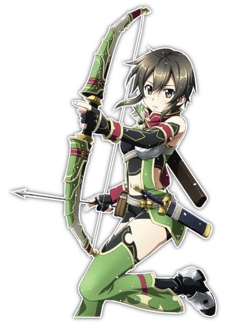sword sinon asada shino archer ver anime jdm
