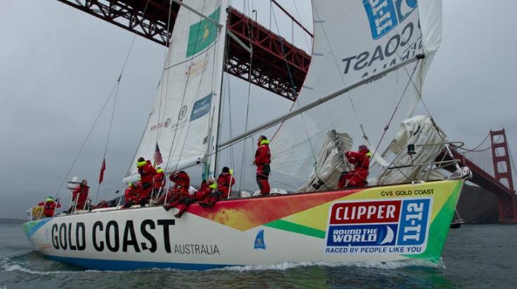 Gold Coast Australia : Clipper Series Yacht brand