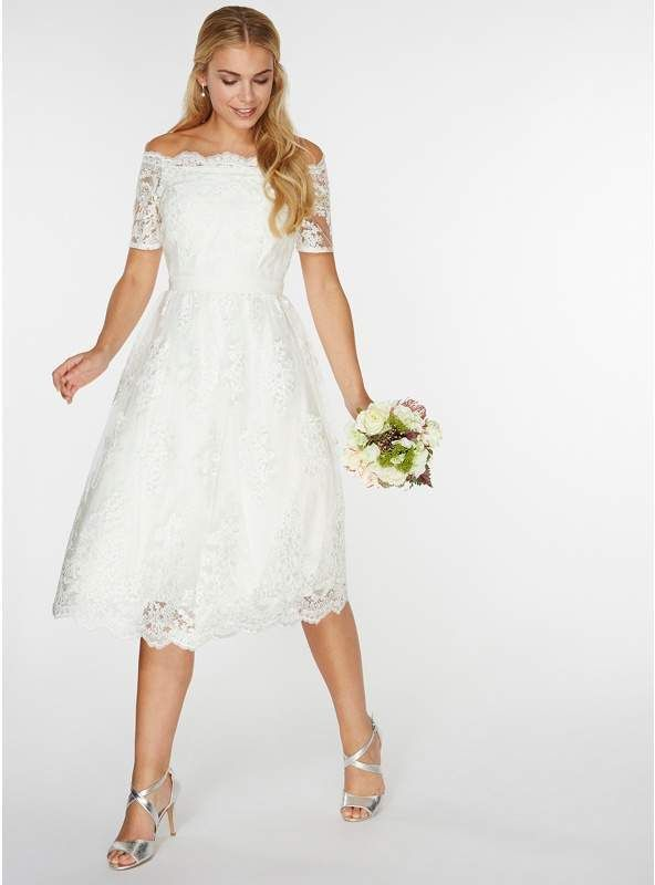 b0481d9af158 Dorothy Perkins - Ivory 'Bella' Wedding Dress. As part of the newly  launched bridal collection for Dorothy Perkins, the 'Bella' wedding dress is  the epitome ...