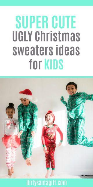 853d1da6b366 Ugly Christmas Sweater Ideas For Kids