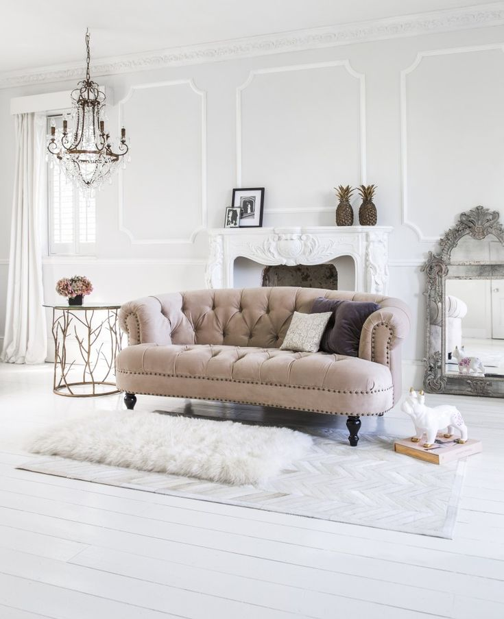 The French Bedroom Company Chablis and Roses Pink Velvet Sofa. The French Bedroom Company 10th Anniversary Bloggers Favourites