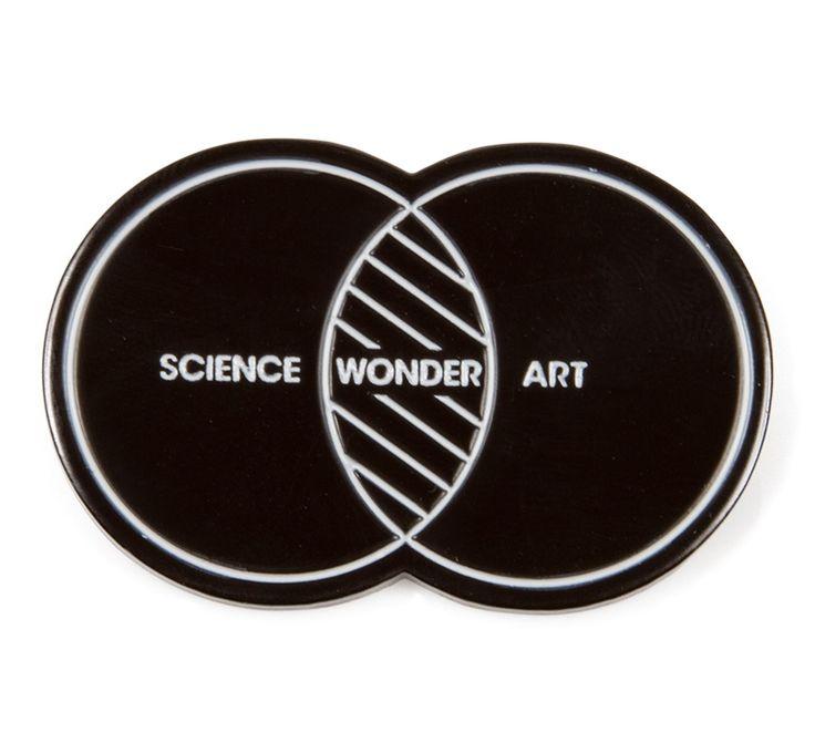 Imaginary Foundation Science Art Wonder Pin - ACCESSORIES