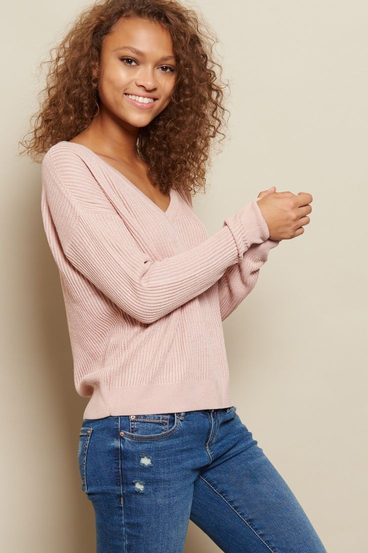 Cozy up in style! - Supersoft V-Neck Sweater