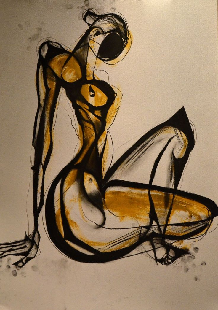 carmeljenkin-art:  Drawing by Carmel Jenkin Self Investment, charcoal and acrylic on paper, 81cm x 57cm