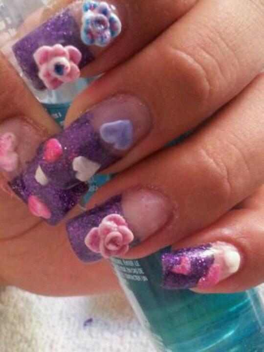 some 3d nail arti did :)
