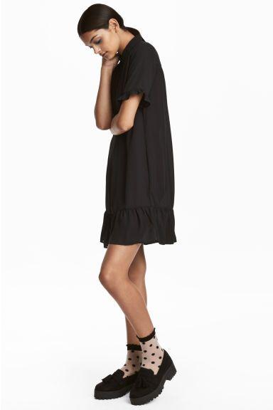 Robe courte - Noir - FEMME | H&M FR 1
