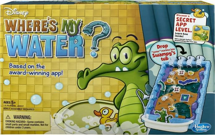 Where's My Water Game	 It's the award-winning app with a whole new life! Help Swampy get