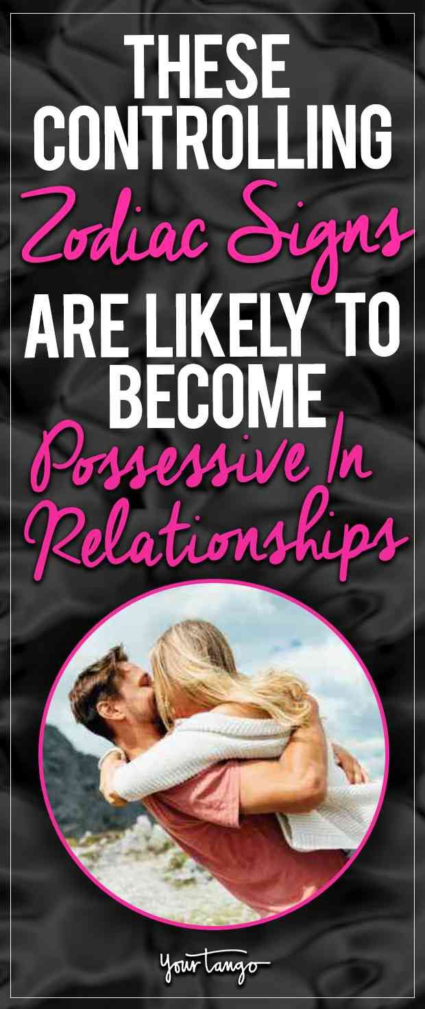 For some zodiac signs, being possessive is as natural as being in love. In fact, some might even think that possessiveness shows their partner that they love them so much.