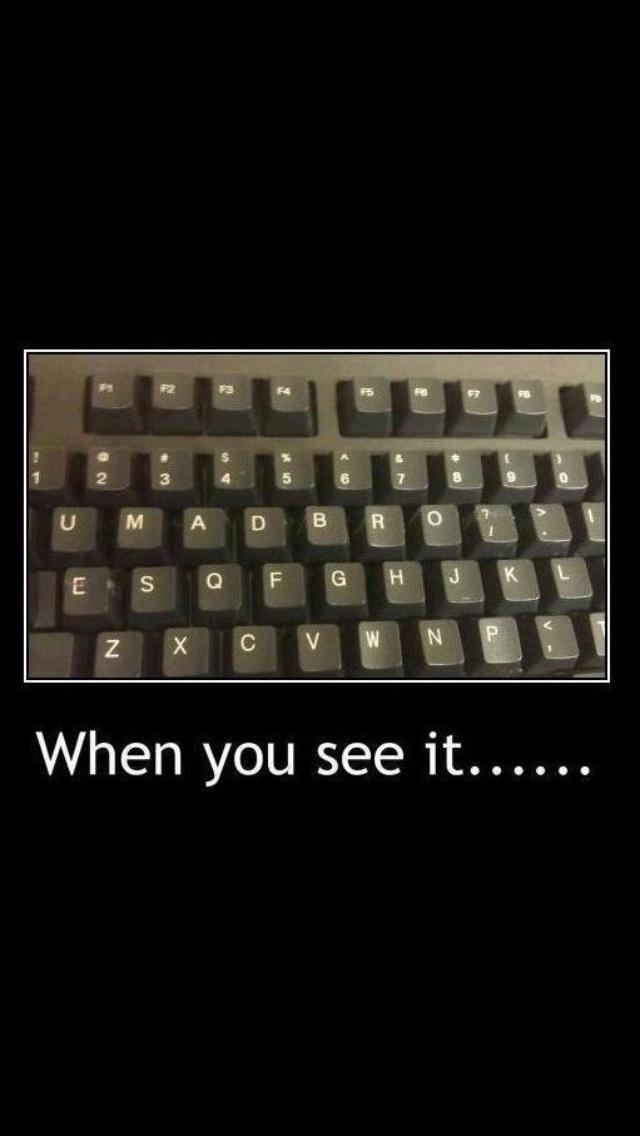 Like when u see it