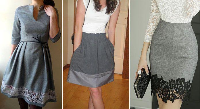 Πως να μακρύνετε μια φούστα ή ένα φόρεμα