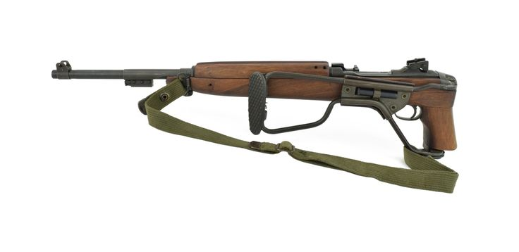 Inland M1 Carbine .30 Carbine caliber rifle. WWII U.S. carbine with Post War commercial paratrooper stock. Excellent overall condition.       Price: $1,195.00 Item Number: R21527