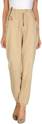 MAISON SCOTCH Casual pants - Shop for women's Pants - Beige Pants