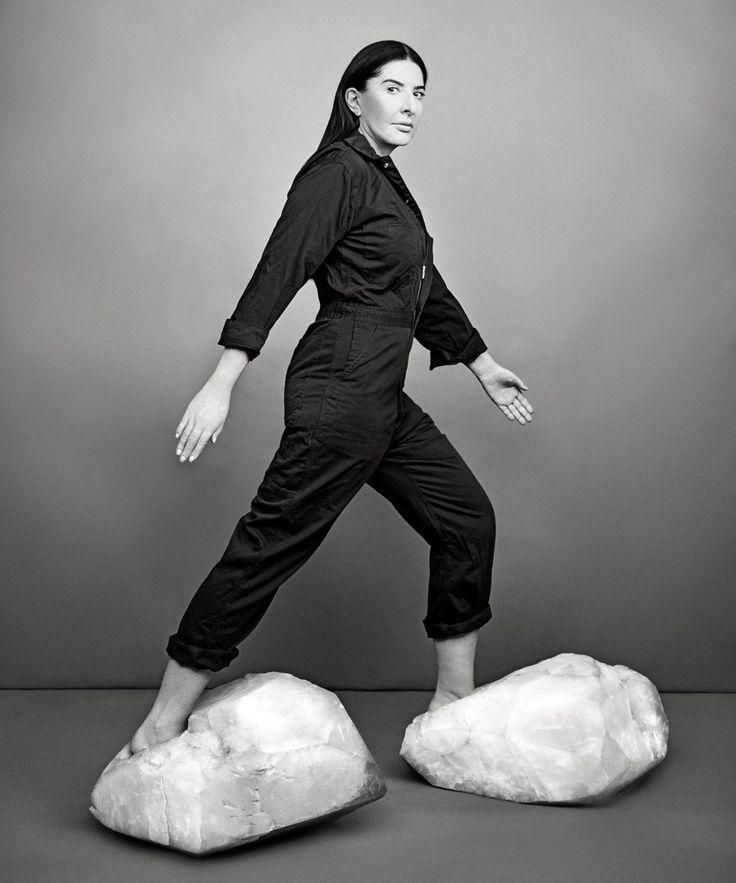 Photographs by Ruven Afanador, Marina Abramovic for New York Magazine