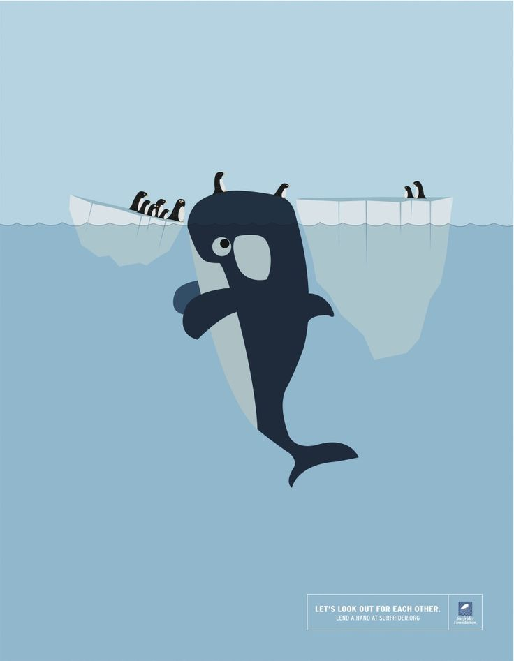 Let's Look Out For Each Other: Whales & Penguins