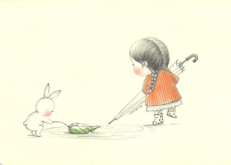 비오는 날(Rainy day) by 꼬닐리오  Grafolio
