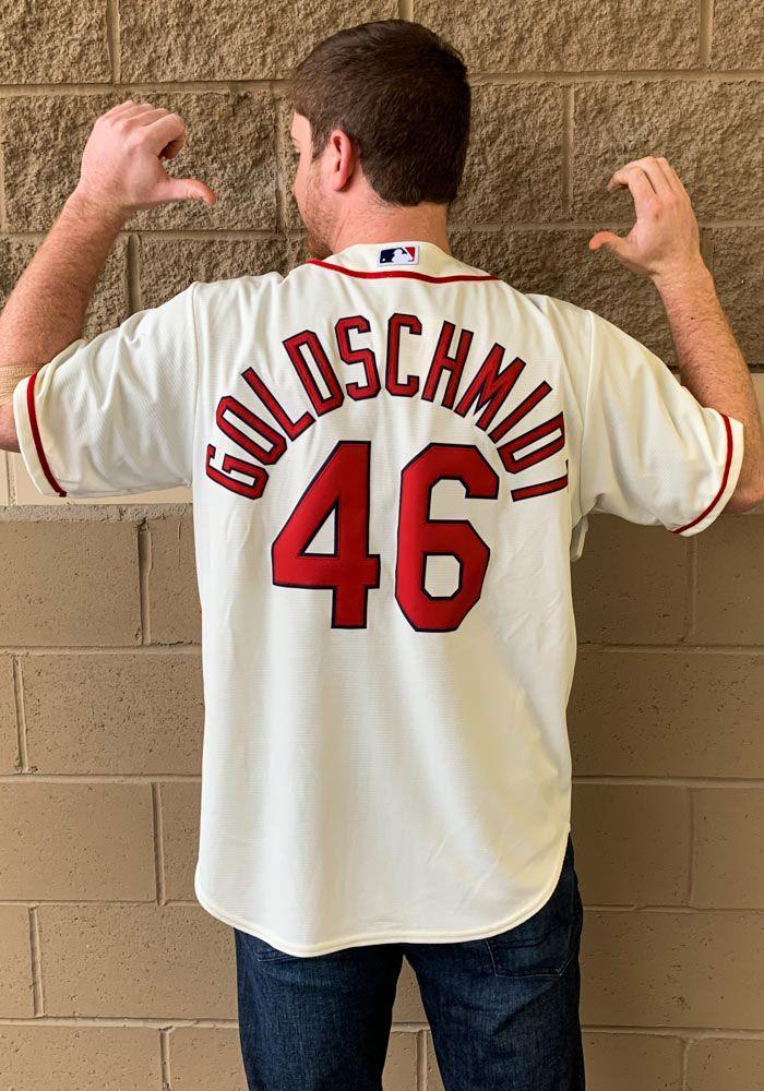 lowest price f47c2 ea845 Paul Goldschmidt St Louis Cardinals Mens Replica 2019 Alternate Jersey