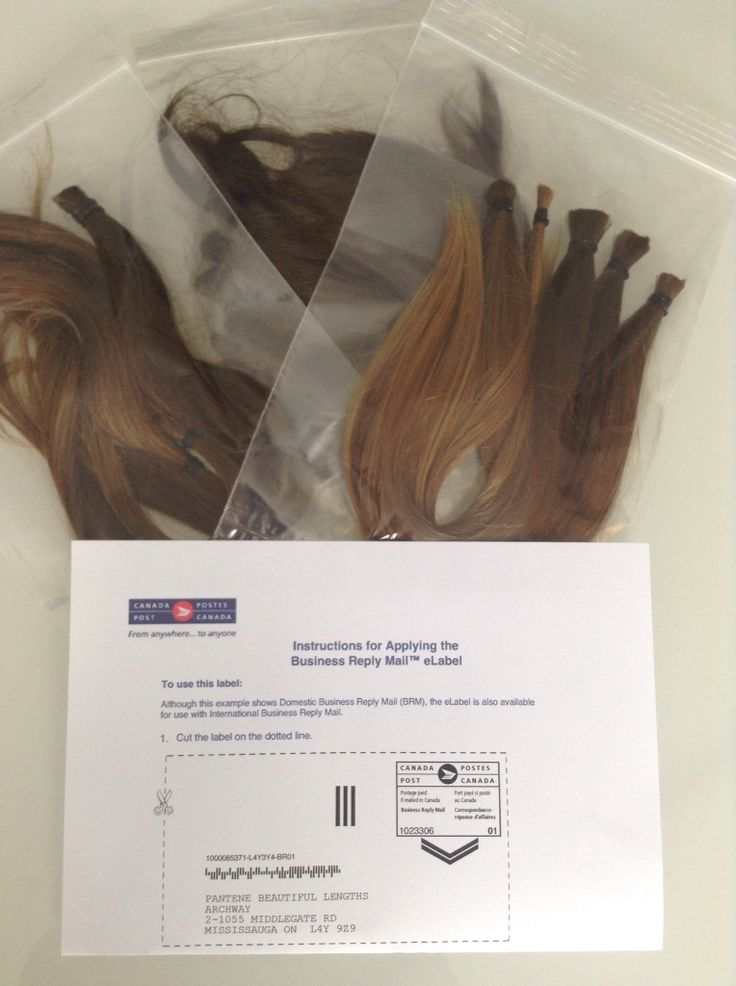"Have you ever considered cutting your hair off to donate? Cancer has touched our Hair2Dye4 team, so this hits close to home for us. Allow us be part of this moment preparing your hair so that you can mail it to your chosen charity...  Pantene Beautiful lengths makes it easy by requiring only 8"" of virgin hair, and CancerCare.ca pays for the postage!"