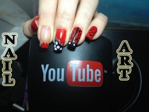 Nail Art Πασχαλίτσα  (Πασχαλινό nail art)