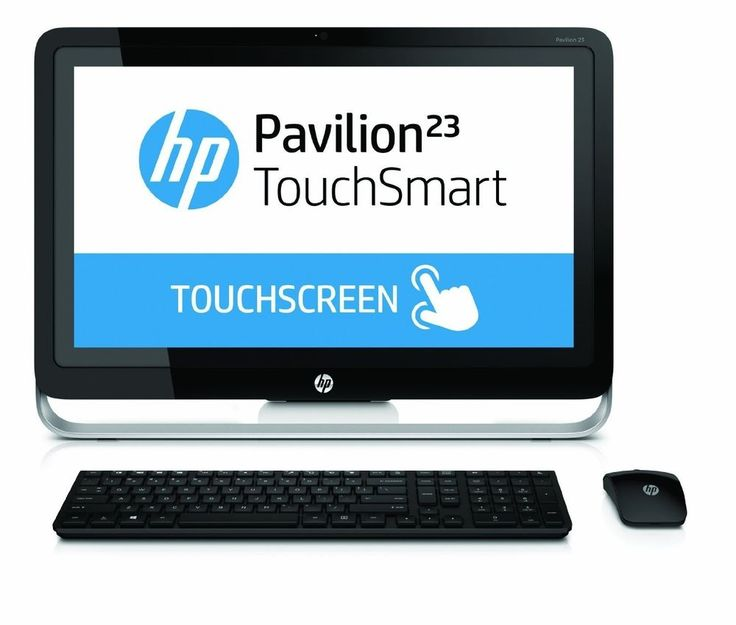 "HP Pavilion TouchSmart 23-H024 23"" Touchscreen All-In-One 1TB Win 8.1 Desktop PC #HP"