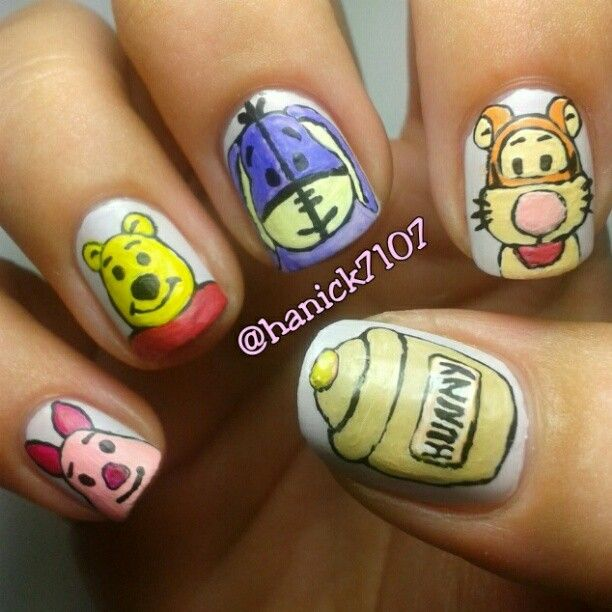 Tigger Nails: 71 Best Winnie The Pooh & Tigger 2 Images On Pinterest