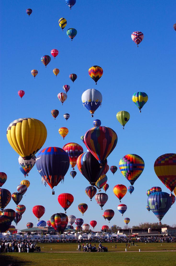 Ride in HOT AIR Balloon...Check